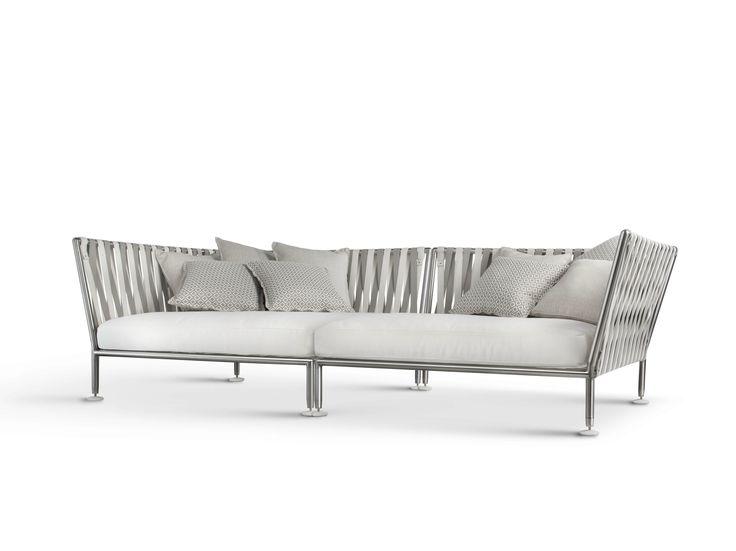 Garden sofa Nest Collection by Coro | design Stefano Gallizioli