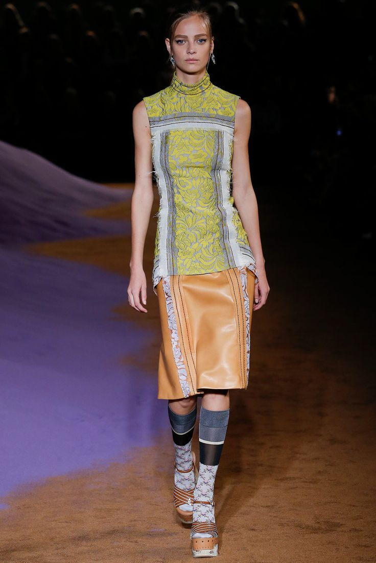Prada spring 2015 ready to wear collection.