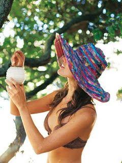 moda maria: paba para el sol.interesante para las creativas