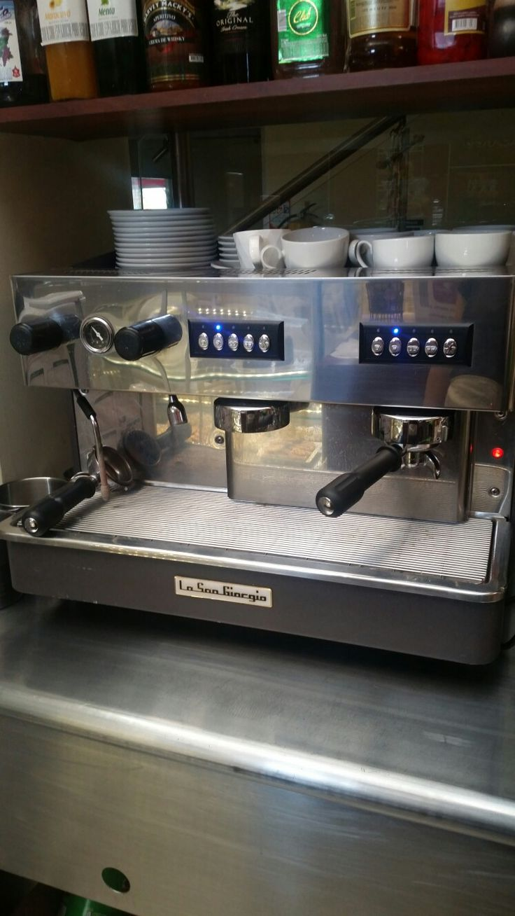 Maquina espresso La san giorgio, automática 2 grupos. $6'500.000 Mosquera Cund. Colombia.