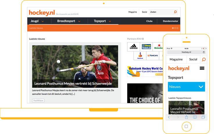 Hockey.nl Voor Sanoma - Website