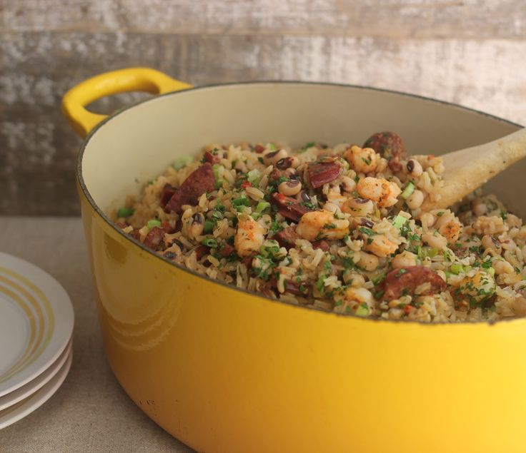 Looking for an alternative to traditional Hoppin' John? Try my Black-eyed pea Jambalaya.