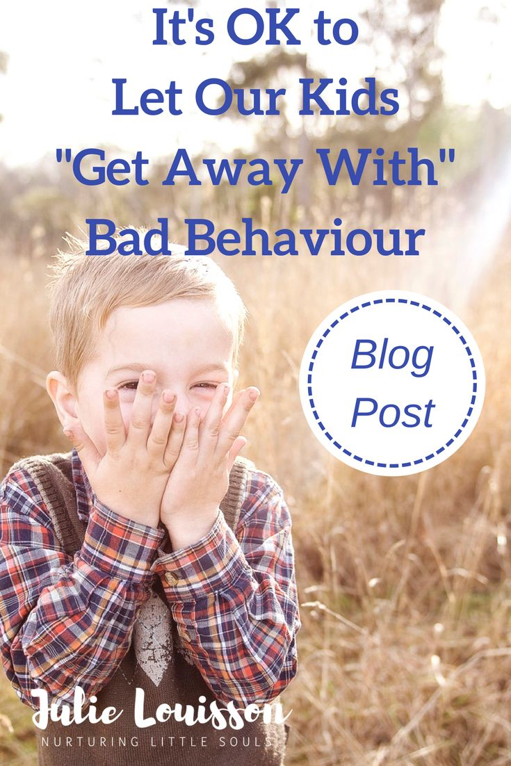 We don't have to discipline all bad behaviour (bad behavior).  Find out why & how our children still learn when we choose not to step in. #julielouisson #spiritualparenting #discipline #parenting