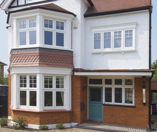 17 best ideas about bay window exterior on pinterest bay for 1930s bay window construction