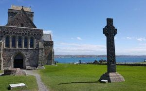 Wooden hut associated with St Columba dates to his lifetime archaeologists discover