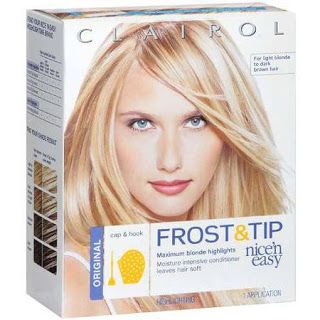thetwomilliondollarblogpage: Clairol Nice'n'Easy Frost &Tip Highlighting Kit Pr...