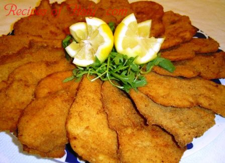 Traditional Italian Chicken Cutlets (Cotolette di Pollo) | An easy recipe for light, crispy cutlets that are big on flavor and always a favorite. An authentic Italian recipe from our kitchen to yours. Buon Appetito!