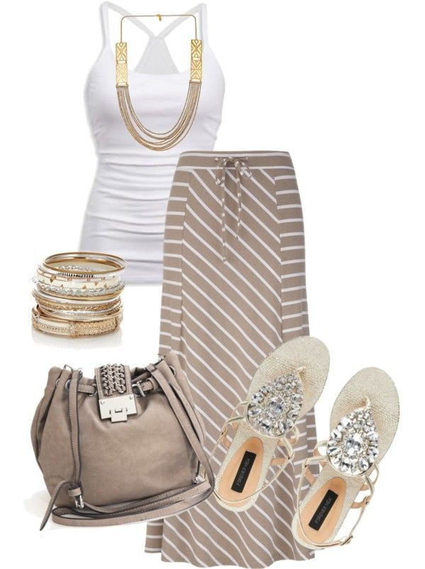 LOLO Moda: Stylish fashion 2013. Such a cute outfit for a summer day!