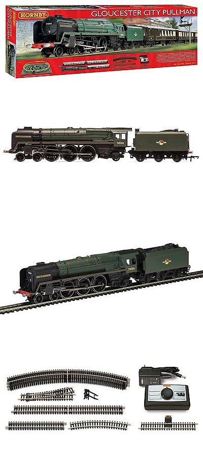 Starter Sets and Packs 112505: Hornby R1177, Hornby Gloucester City Pullman Train Set -> BUY IT NOW ONLY: $158 on eBay!