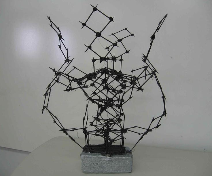Toothpick Sculpture 46 best 3d: toothpick sculpture (mini-lesson) images on pinterest