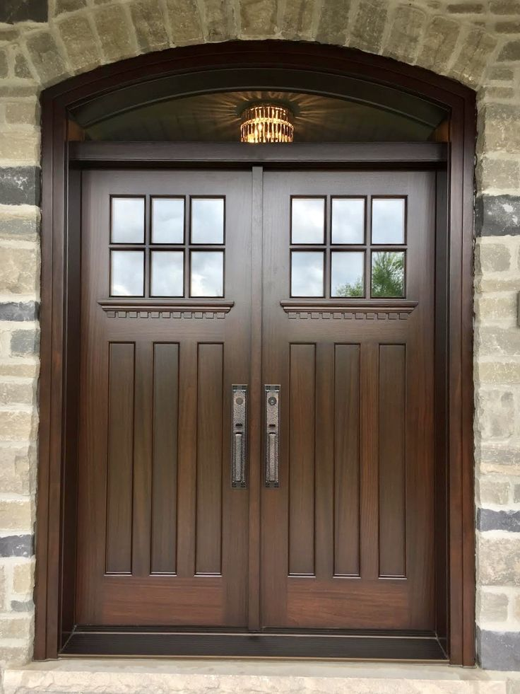Amberwood Doors Inc: Very Handsome #custom #solidmahogany #AmberwoodDoor