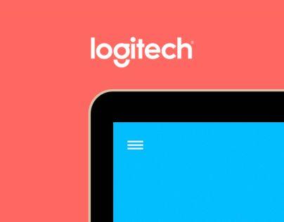 """다음 @Behance 프로젝트 확인: """"Logitech - Website concept"""" https://www.behance.net/gallery/27974857/Logitech-Website-concept"""
