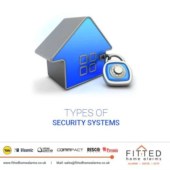 Types of Security Systems Phone: 0800 193 8727, 020 3137 8727  Mail: sales@fittedhomealarms.co.uk 1. Monitored System: This system will alert a call center if the alarm gets triggered and this call center will contact the police.  2. Unmonitored System: This system sets off a loud siren inside and outside the house when the alarm is tripped. This system relies on your neighbors nearby to call the police if you are not home.  3. Wireless Alarm Systems: One advantage to a wireless system is…