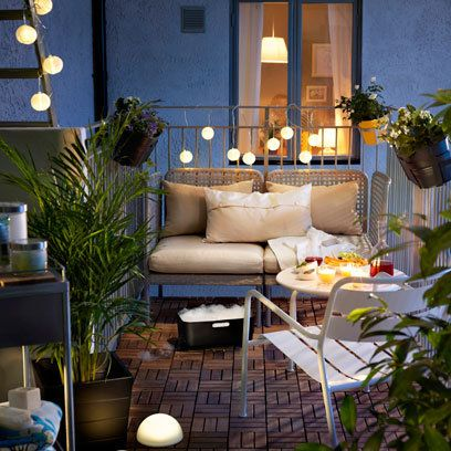 Lighting in garden | Small Garden Ideas | Interiors | redonline.co.uk