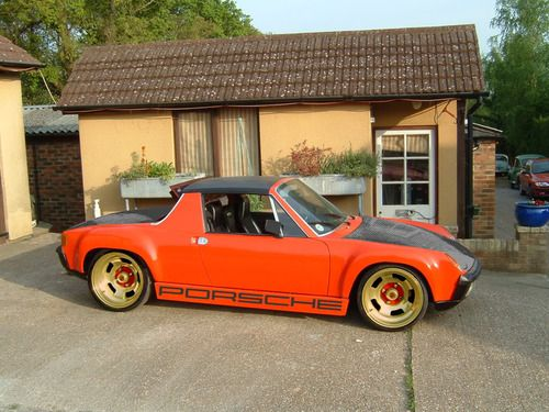 Porsche 914 this is the most ugly and also slow car ...for Porsche