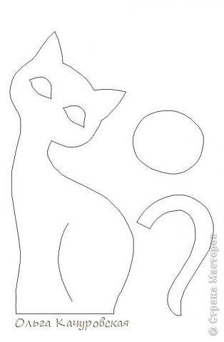Игрушка Мастер-класс Поделка изделие 8 марта Валентинов день День рождения Шитьё А у нас теперь кошки живут Ткань фото 45