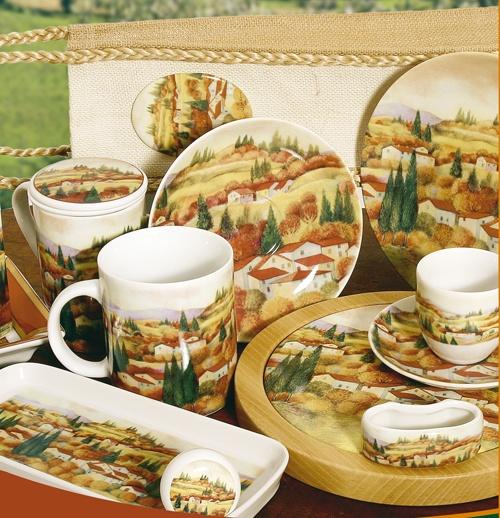 Handmade Porcelain Decoration | Autumn