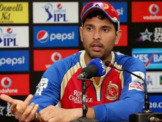 Yuvraj Singh Released by Royal Challengers Bangalo...