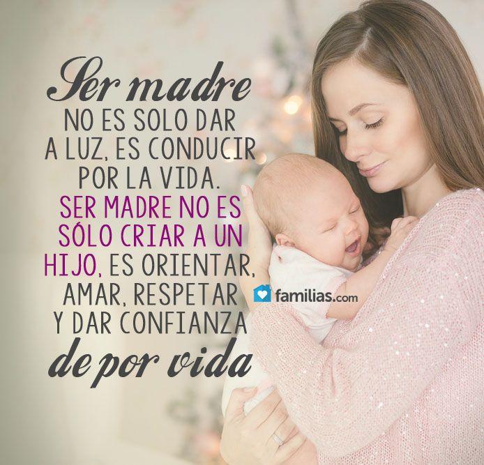 Ser madre es para toda la vida