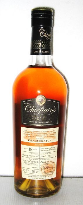 Caperdonich 1995 18 Years Old- Speyside - Chieftain's