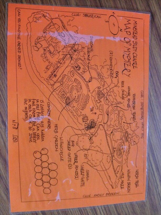 Minstead edu centre site mapamazing gardens and