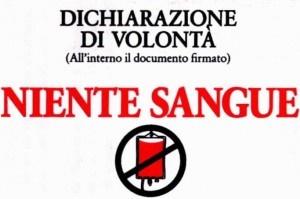 Torino: testimone di Geova salvato da trasfusione denuncia i medici