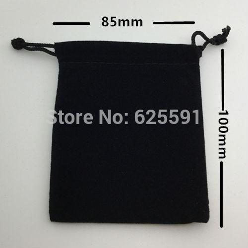 """[Visit to Buy] 20pcs/set Dice bag 8.5*10cm(3.35*4"""") Black Velvet Pouch/Jewelry Bag,Christmas Gift Bags & Pouches Board Game #Advertisement"""