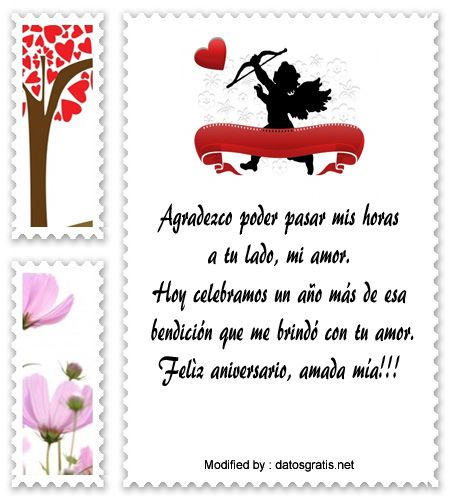 sms bonitos de aniversario,textos de aniversario para whatsapp: http://www.datosgratis.net/mensajes-de-aniversario-para-novios/