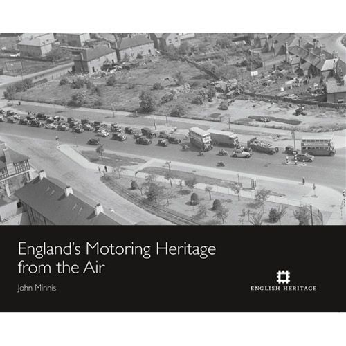 This selection of photographs makes use of the Aerofilms collection, acquired by English Heritage in 2007. It traces the outward expansion of places brought about by the availability of the car. How new arterial roads came into being to meet the needs of motor transport and how the centre of cities start to be rebuilt to accommodate it.   http://www.english-heritageshop.org.uk/books/english-heritage-publications/englands-motoring-heritage-from-the-air