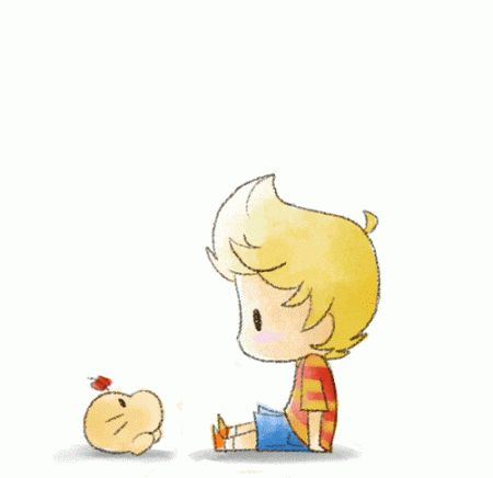 Dosei-san/Mr. Saturn and Lucas/Ryuka.
