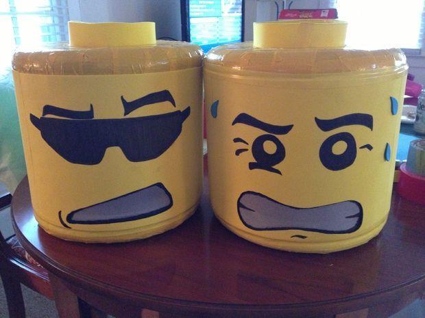 LEGO Man Costume Instructable
