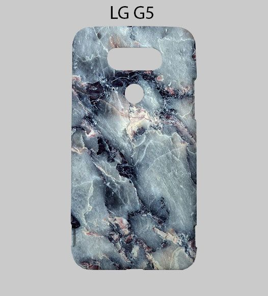 Grey black Marble LG G5 Case Cover