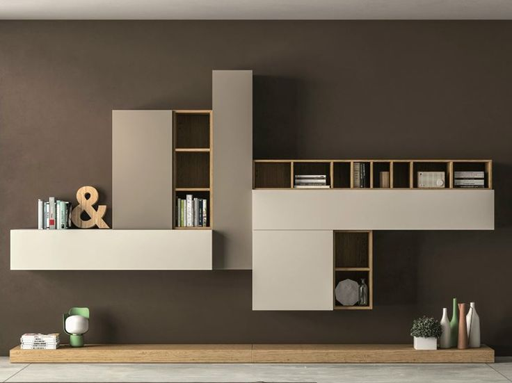 Ensemble mural composable SLIM 104 by Dall'Agnese