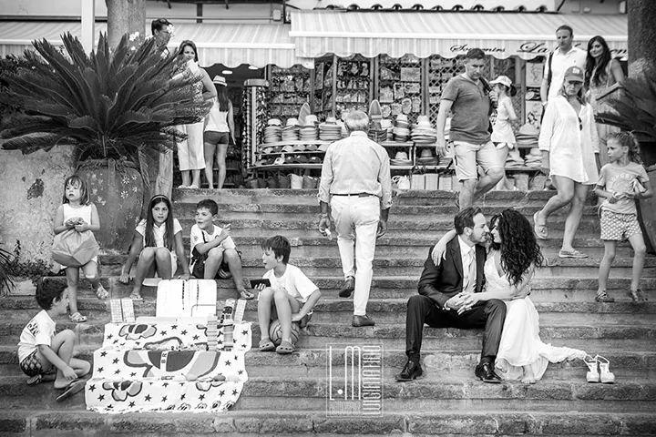 Scatto del fotografo per matrimonio ad Amalfi Luigi Matino