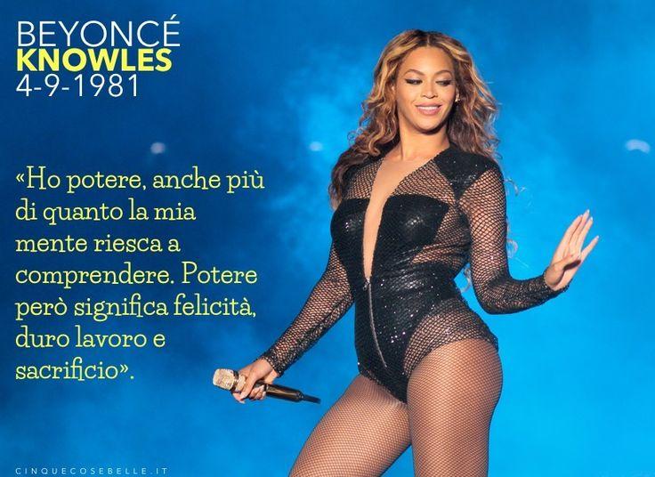 35 anni dalla nascita di Beyoncé