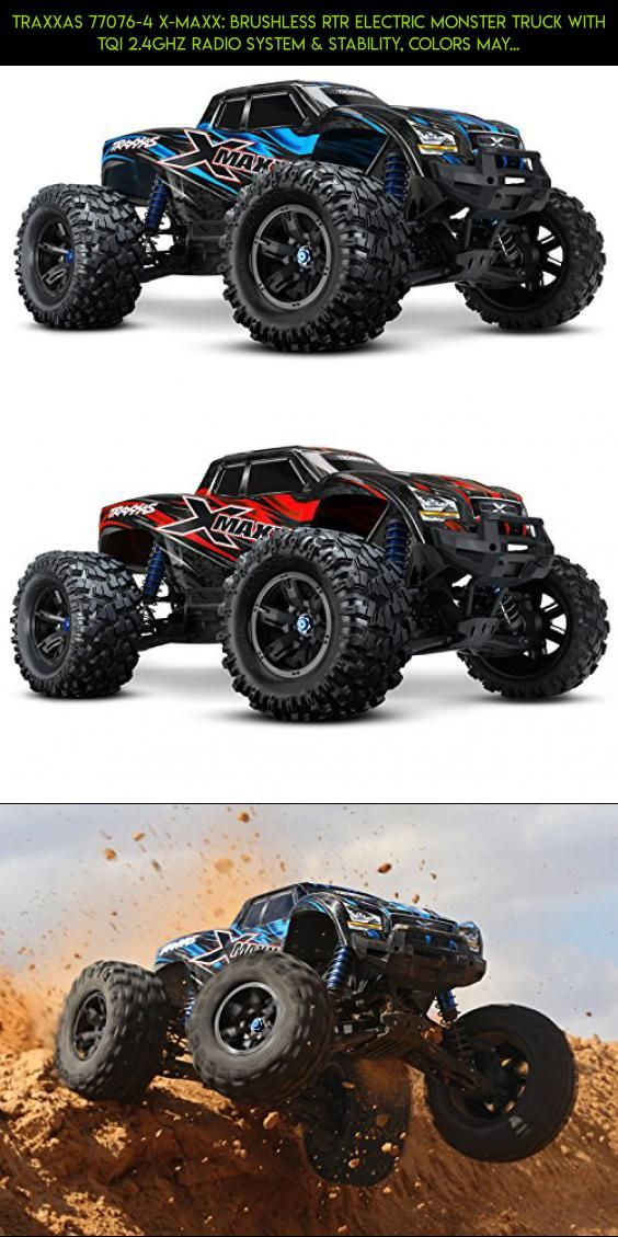 Traxxas 77076-4 X-Maxx: Brushless RTR Electric Monster Truck with TQi 2.4GHz Radio System & Stability, Colors May Vary #racing #plans #x-maxx #traxxas #drone #8s #technology #products #camera #tech #gadgets #shopping #parts #kit #fpv