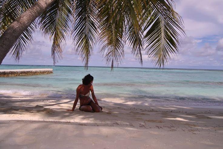#LaMiaSpiaggia Alimatha alle Maldive @SphimmsTrip