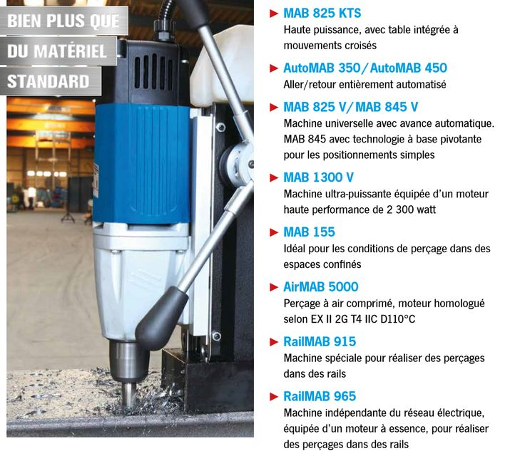Présentation de notre nouveau catalogue BDS des machines de carottageà base magnétique sur mesure et modèles personnalisés.  (Perceuses sur socle magnétique à usage spécifique)