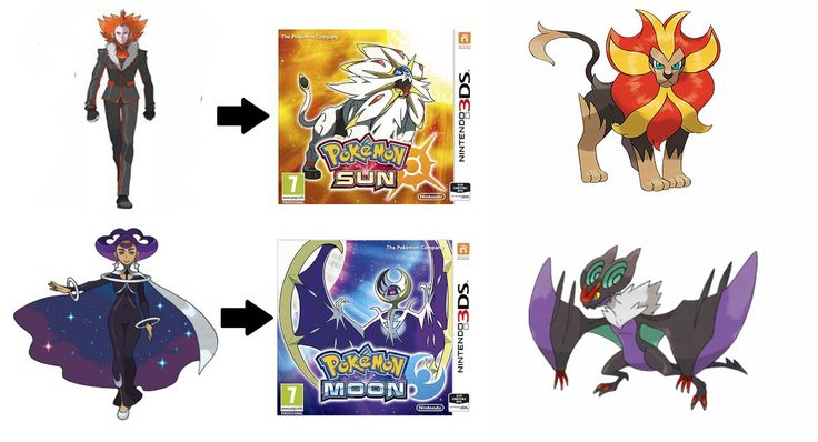 pokemon sun and moon lysander and pyroar and noivern and olympia