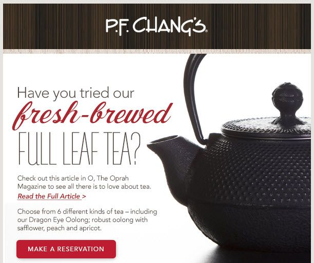 Make a reservation at PF Chang's China Bistro at Eastwood Towne Center: 517-267-3833 #EastwoodPinPals