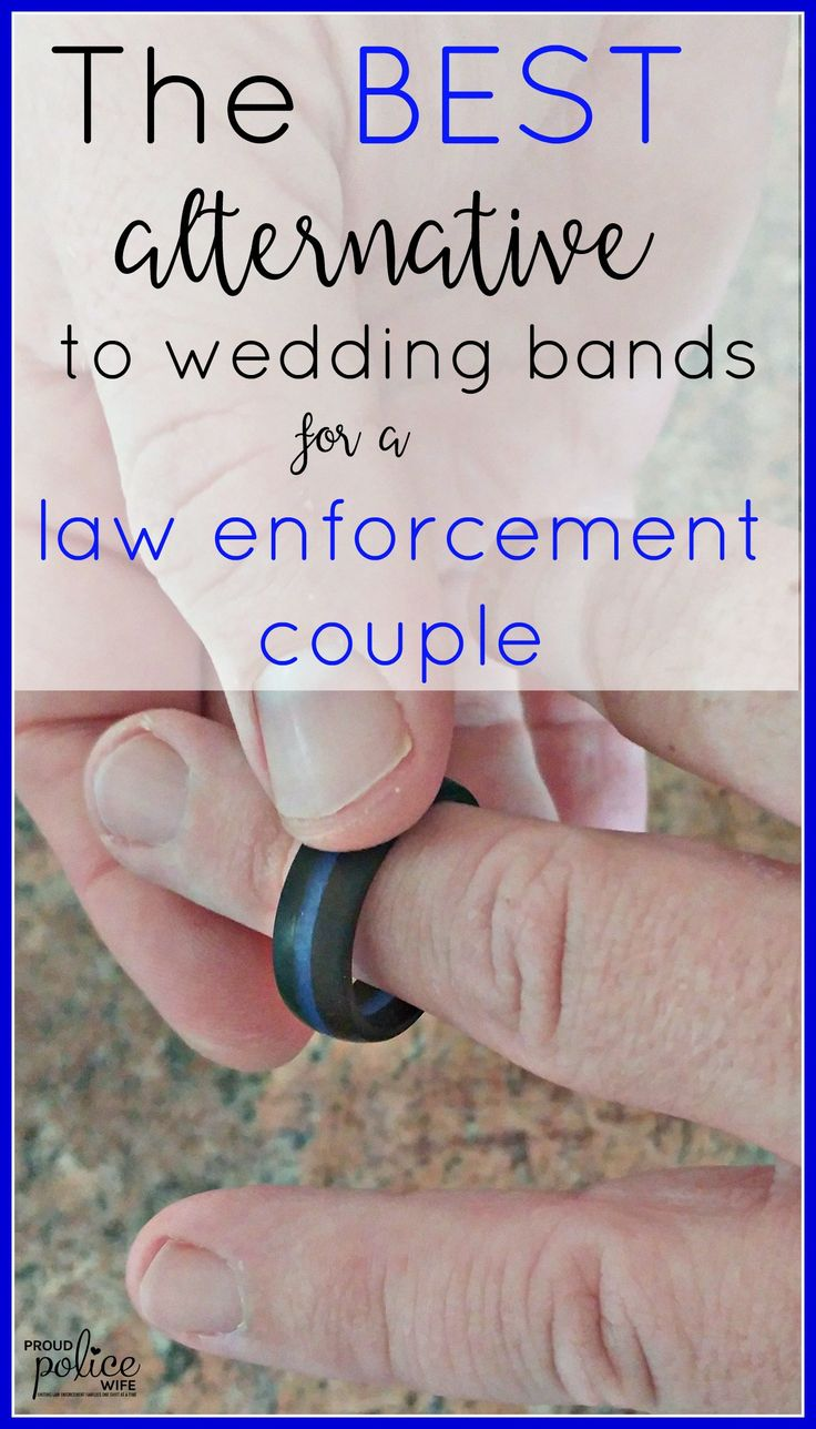 QALO rings are popular with law enforcement couples. I would wear one as a police wife, for sure!!