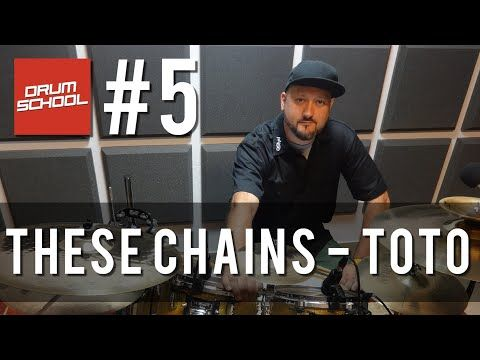 Drum School # 5 - These Chains - Toto | Half-Time Shuffle | Lekcje gry na…