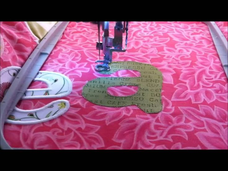 Step by step instructions for machine embroidery applique with Evy Hawkins