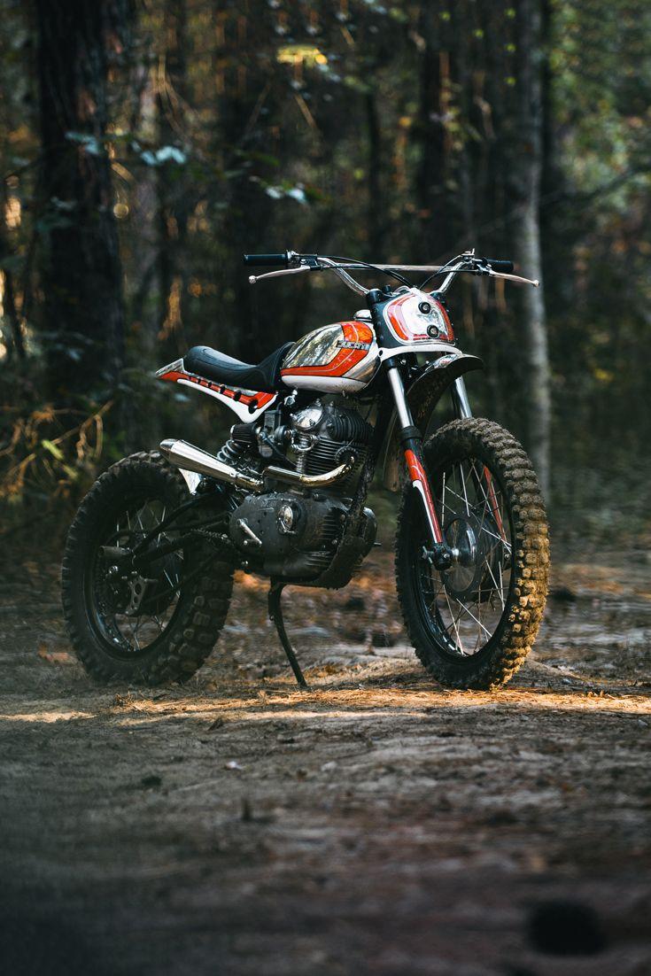 Charming Look Again: Bryan Fulleru0027s Built Another Ducati 250 Scrambler. Enduro  MotorcycleDucati ...