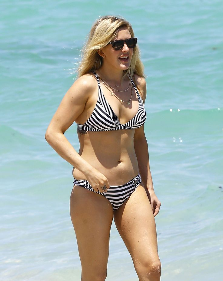 Ellie Goulding Heads to Miami to Unwind in a Bikini After Killing It at Coachella
