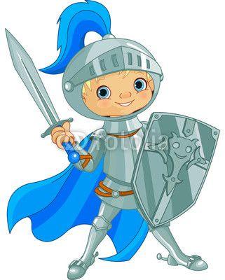 Combattere Coraggioso Cavaliere
