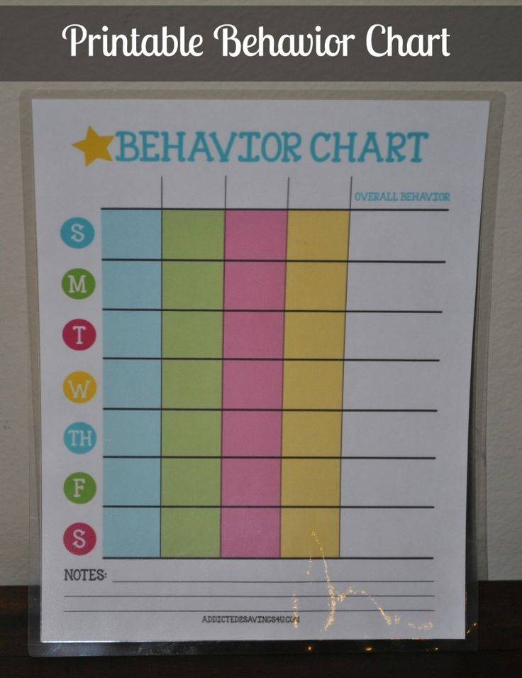 Best Behavior Charts For Kids Ideas On   Reward
