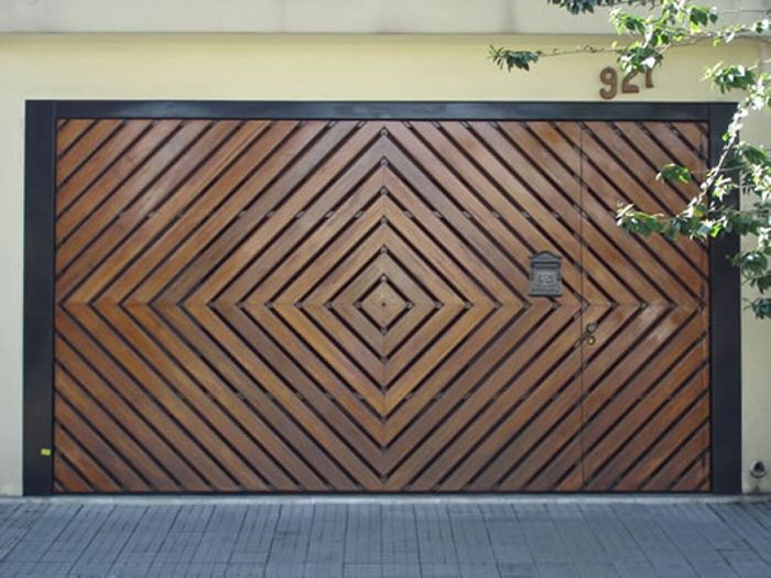 Unusual Door Designs from Brazil, Part 2: Garage Doors with Style - Core77