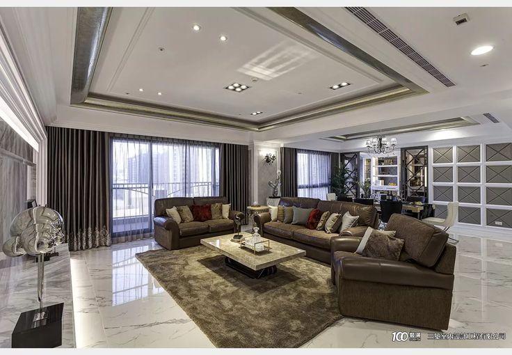 中悅林公館_新古典風設計個案—100裝潢網