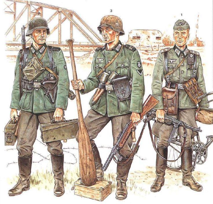 wehrmacht blitzkrieg 1940 soldato con mauser 98k 2nd